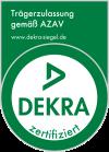 DEKRA zertifiziert gemäß AZAV